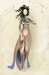 one goddess of nature by furiouskitten