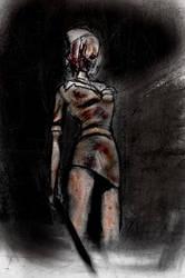 Silent Hill Nurse by furiouskitten