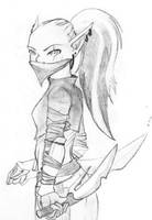 Orc Rogue by Bluefaerie87
