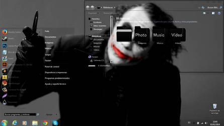 Black Glass Windows 7 by pastito07