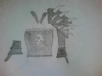 Bandos Chest Plate Sketch by Jayskillz