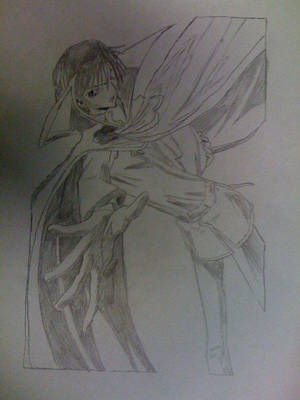 Lelouch Vi. Brittiania Sketch2 by Jayskillz