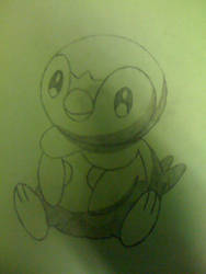 Piplup - Requested Drawing by Jayskillz