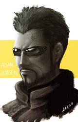 Deus Ex HR - Adam by kiwii