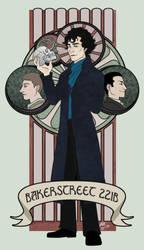 Sherlock - Friends and Foe by kiwii