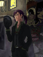 OC - Night in noir city by kiwii