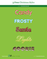 Christmas Styles Free PSD by victorsosea