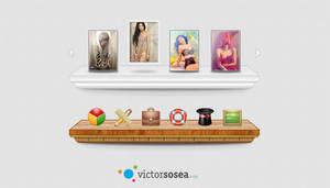 Feature Bars Free PSD by victorsosea