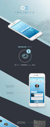 Infinity Mobile UI Free PSD by victorsosea