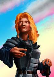 SwordWoman by Dimmak42