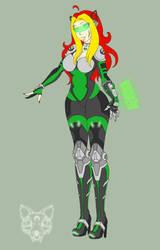 CS - Overwatch: Emerald 'Alleycat' by Kitten-Skull