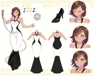 Noirie Mavros character sheet by KazeNoKami1