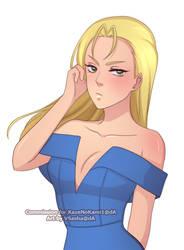Lia Aquamar by KazeNoKami1