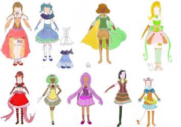 Dress de Magical Girl by Killcow