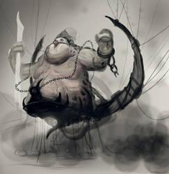 Weird creature guy by AngelOfChaos01