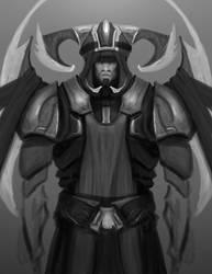 Random Sketch Man by AngelOfChaos01