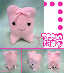 Tooth Fairy Plush by mintconspiracy