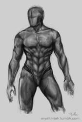Drell Anatomy - study by Altariah
