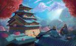 Castle by fluffycatfish