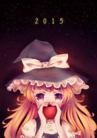 Marisa's Apple by riinasuu