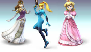 Girls of Nintendo by UltimateSmasher