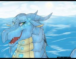 Out for a Swim by RhynoBullraq