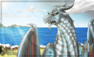 I'm the SeaWing Animus (ToP SPOILERS) by RhynoBullraq