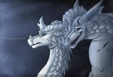 'Do I scare you, Krona?' by RhynoBullraq