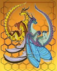 'Blue and Cricket' by RhynoBullraq