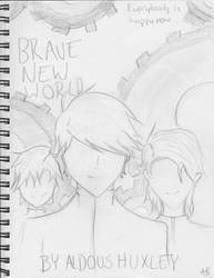 Brave New World Cover by dftba42