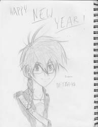 Happy 2014! by dftba42