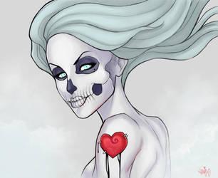 love and death by JENJYart