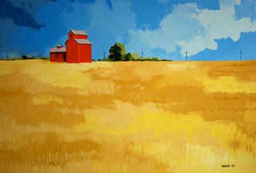 Prairie Wheat by GaryWard