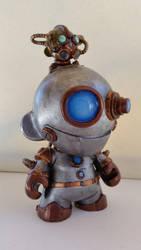 RoboMunny -TanyaDavisArt by tanyadavisart