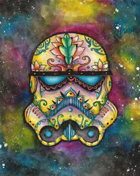 StormtrooperSugarSkull by tanyadavisart