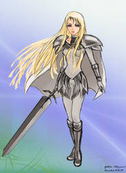 Claymore - Galatea by xenabcd