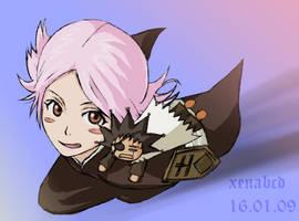 Bleach - Yachiru + Ken-chan by xenabcd