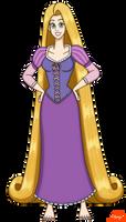 Rapunzel by PerryWhite