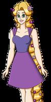 Spring Rapunzel by PerryWhite