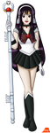 Ultear As Sailor Pluto by PerryWhite