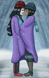 Blanket Of Snow by PerryWhite