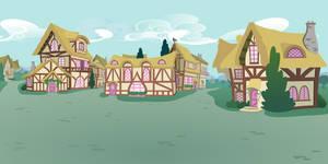 pony ville outskirts by matty4z