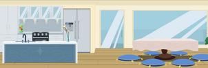mlp modern kitchen by matty4z