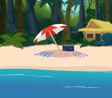 beach side hut now with.....stuff? by matty4z