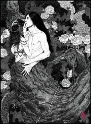 The Dragon by Helenakotova