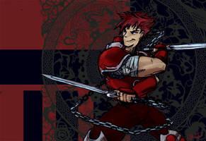 Sword Chucks Yo by corvid