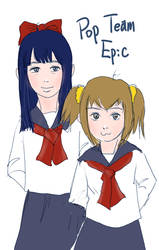 Pop Team Epic by Kensosha