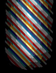 Pixelated Dark Stripes by Bleedmanian13