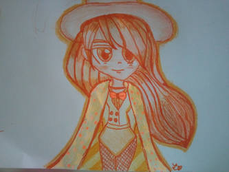 Witch/Wizard gal ((ORANGE)) by PinkieSofiaLover