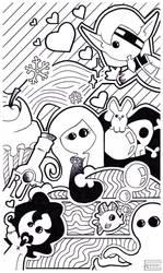 .Second Star Doodle. by Kurashi